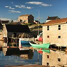 Peggy's Cove by Amanda White