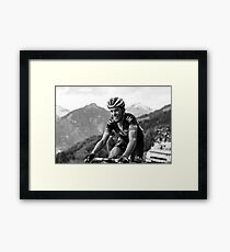 Sylvain Chavanel (IAM Cycling) Framed Print