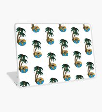 Smoking sunset - tropically designed by Joe Tamponi Laptop Skin
