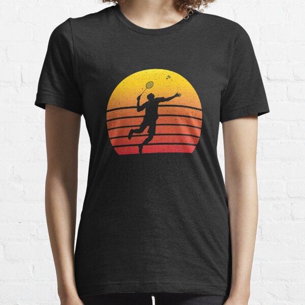 Badminton Player Coach Team Retro Vintage Gift Essential T-Shirt