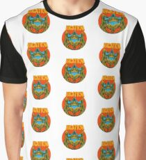 Psychedelic vacation skull - designed by Joe Tamponi Graphic T-Shirt