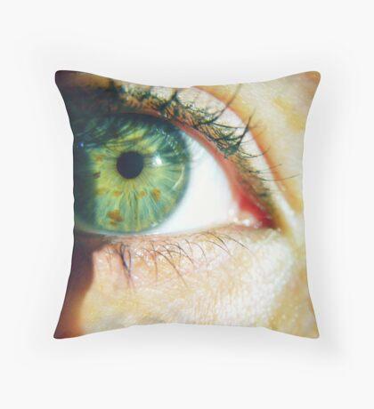 Peek Throw Pillow