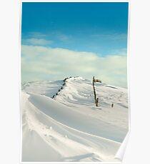 Hollins Cross-The Great Ridge in Winter Poster