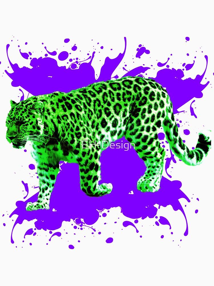 Grüner Leopard von EH-Design