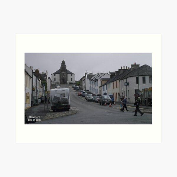 Bowmore    Isle  of Islay Art Print