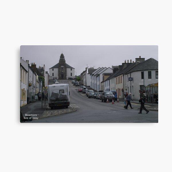 Bowmore    Isle  of Islay Canvas Print