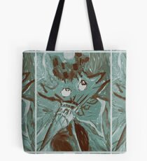 The Bird with the Unicorn Beak Tote Bag