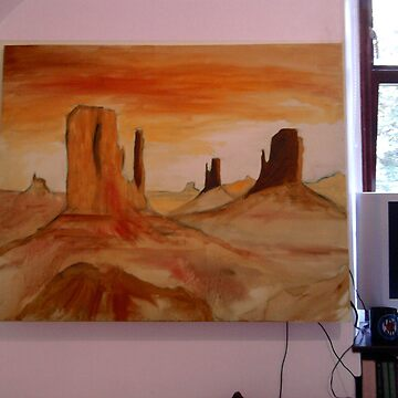 A0 Landscape stage 1 by JamieMcc