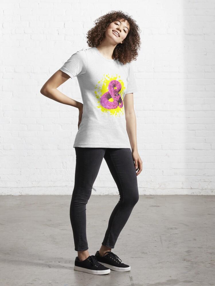 Alternative Ansicht von Pink Rattlesnake Essential T-Shirt