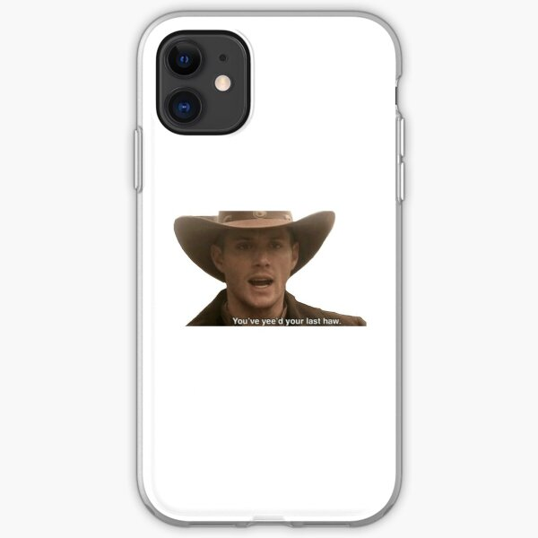 Supernatural- Dean Winchester Sticker iPhone Soft Case
