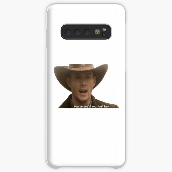 Supernatural- Dean Winchester Sticker Samsung Galaxy Snap Case