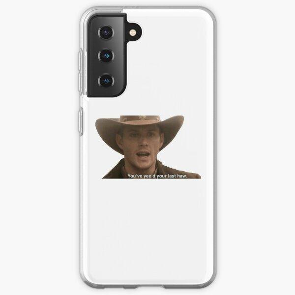 Supernatural- Dean Winchester Sticker Samsung Galaxy Soft Case