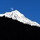 Gangapurna Mountain, Nepal by wiggyofipswich