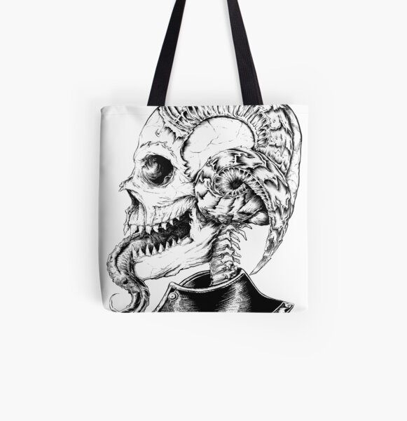 Devil priest All Over Print Tote Bag