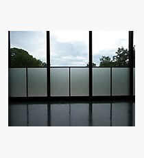 Mies Interior - Chicago Institute of Technology Photographic Print