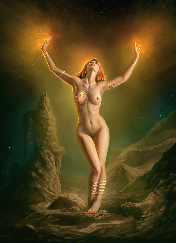 Mage women nude — pic 11