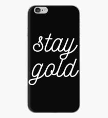 THE OUTSIDERS 'STAY GOLD' iPhone Case