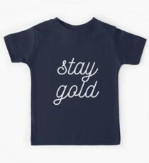 THE OUTSIDERS 'STAY GOLD' Kids Clothes