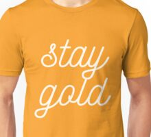 THE OUTSIDERS 'STAY GOLD' Unisex T-Shirt