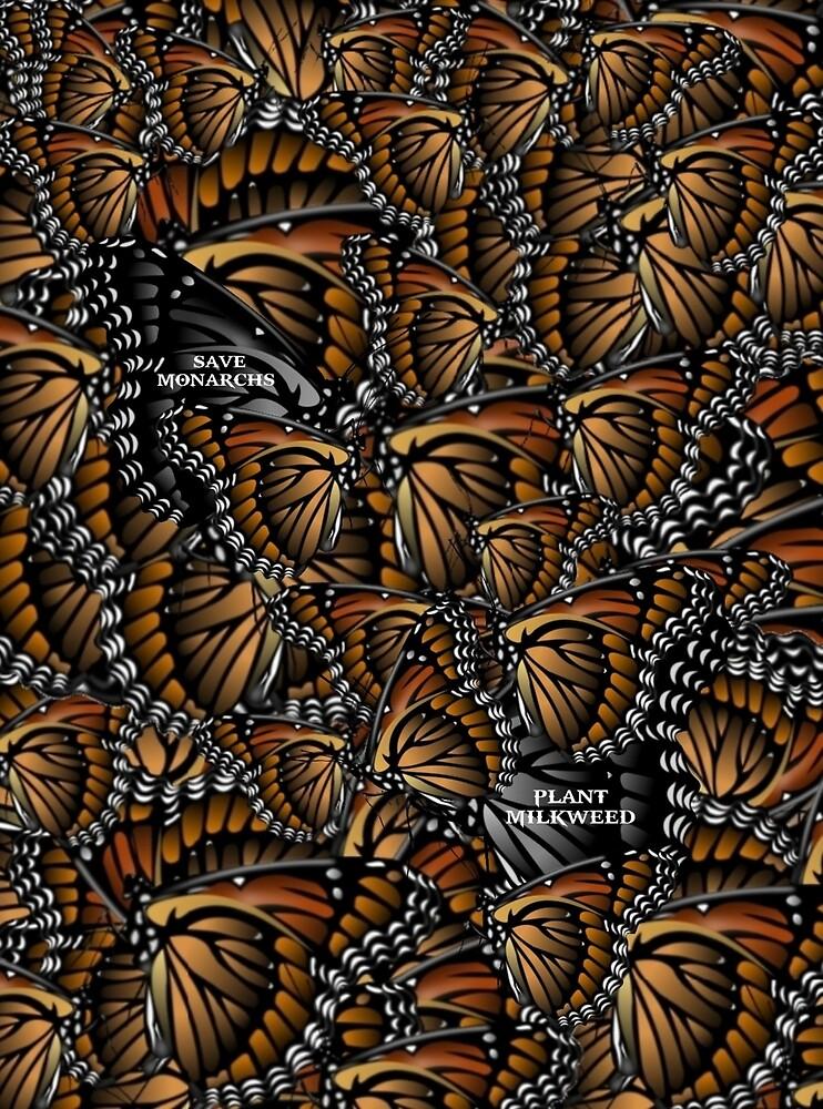 Save Monarchs—Plant Milkweed by WolfShadow27