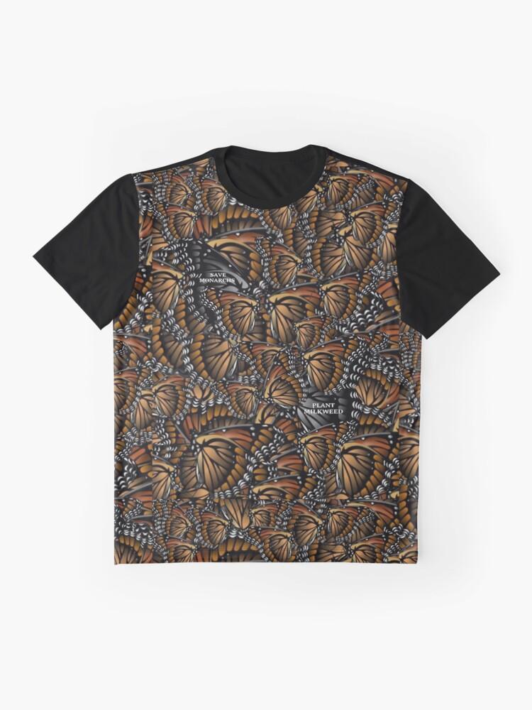 Alternate view of Save Monarchs—Plant Milkweed Graphic T-Shirt