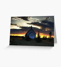 Bold Prairie Sky Greeting Card