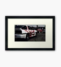 The Jap Show Framed Print