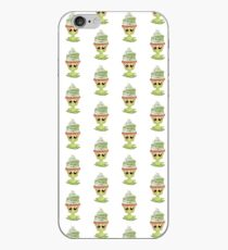 kotzendes Emoticon Cupcake iPhone-Hülle & Cover