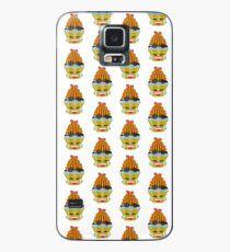 Tränen lachendes Emoticon Cupcake Hülle & Klebefolie für Samsung Galaxy