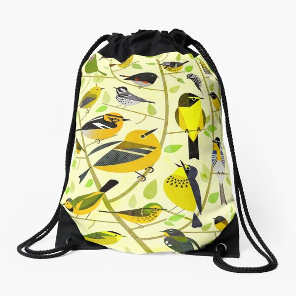 New World Warblers 1 Drawstring Bag
