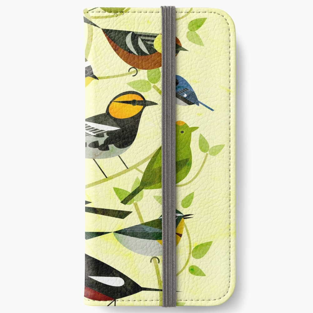 New World Warblers 2 iPhone Wallet