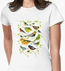 New World Warblers 2 Fitted T-Shirt