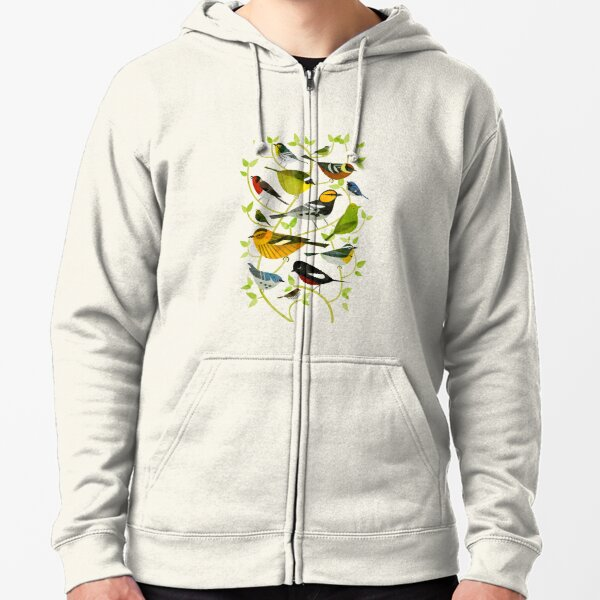 New World Warblers 2 Zipped Hoodie