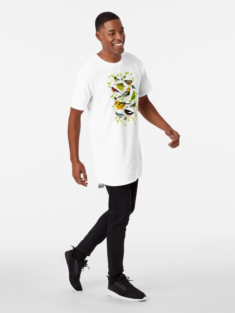 Alternate view of New World Warblers 2 Long T-Shirt