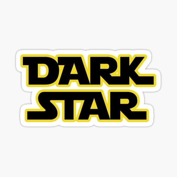 dead dark star Sticker
