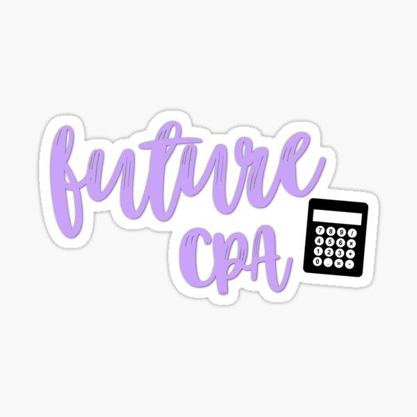 Future CPA  Sticker