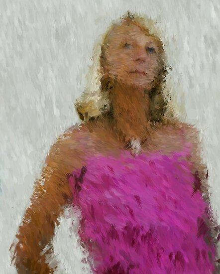 pink frills by Untamedart
