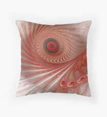 Terra-cotta Throw Pillow