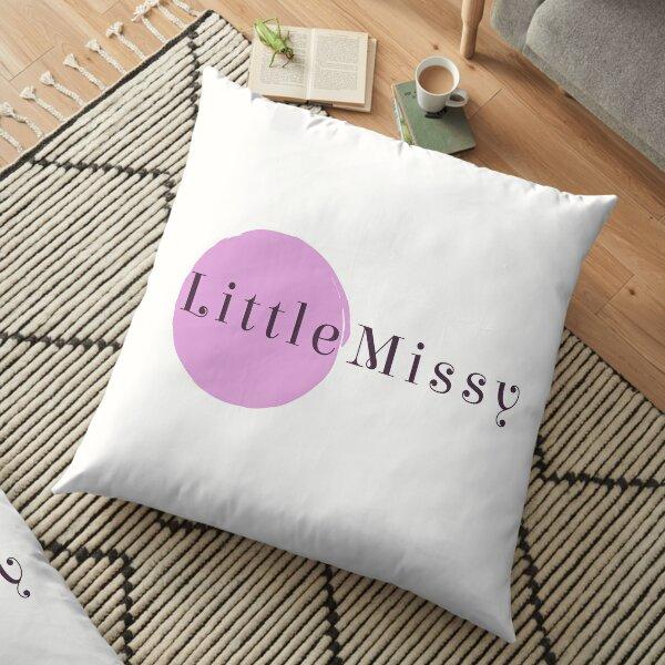 Little Missy Logo Floor Pillow
