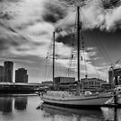 Docklands 2 by Christine Wilson