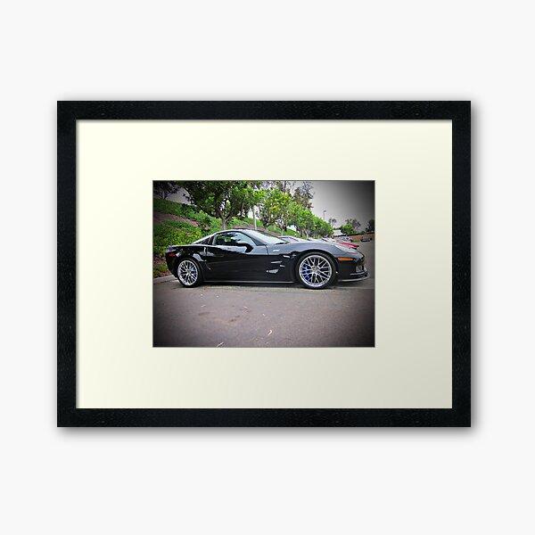ZR1 Framed Art Print