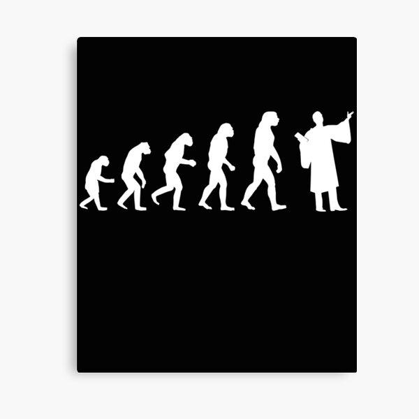 LAWYER Richter Evolution Canvas Print