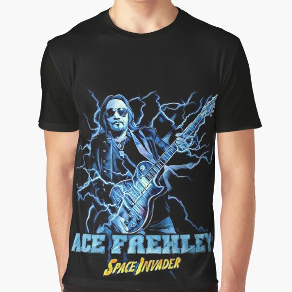 Ace Frehley Space Invader Graphic T-Shirt