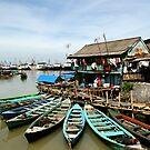 Sunny Day in the Slum, Jakarta by Ashlee Betteridge