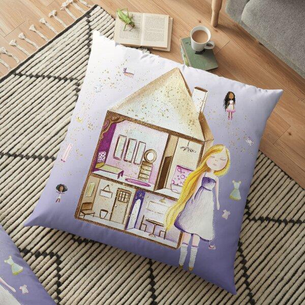 Dollhouse Floor Pillow