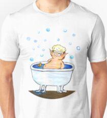 Bathing hobbit Unisex T-Shirt