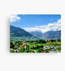 Meran III. South Tirol. Canvas Print