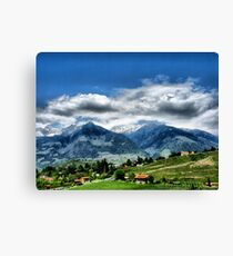 Meran IV. South Tirol. Canvas Print
