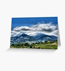 Meran IV. South Tirol. Greeting Card