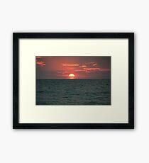 Cable Beach Framed Print
